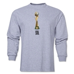 FIFA Women's World Cup Canada 2015 French Trophy II LS T-Shirt (Grey)