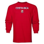 Costa Rica FIFA Women's World Cup Canada 2015(TM) LS T-Shirt (Red)