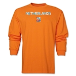 Netherlands FIFA Women's World Cup Canada 2015(TM) LS T-Shirt (Orange)
