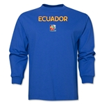Ecuador FIFA Women's World Cup Canada 2015(TM) LS T-Shirt (Royal)