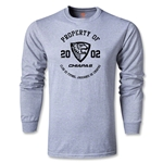 Jaguares de Chiapas Distressed Property LS T-Shirt (Gray)