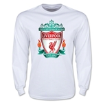 Liverpool Crest LS T-Shirt (White)