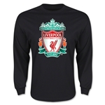 Liverpool Crest LS T-Shirt (Black)