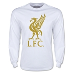 Liverpool Liver Bird LS T-Shirt (White)