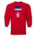 LOSC Lille We Are LS T-Shirt (Red)