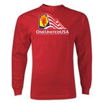 One United USA LS T-Shirt (Red)