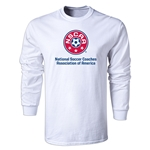 NSCAA LS T-Shirt (White)