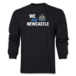 Newcastle United We Are Newcastle LS T-Shirt (Black)