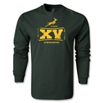 South Africa Springboks 15 LS T-Shirt (Dark Green)