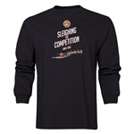FC Santa Claus Sleighing the Competition Men's LS T-Shirt (Black)
