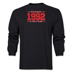 FC Santa Claus Established 1992 Men's LS T-Shirt (Black)