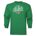 FC Santa Claus Pride of Finland Men's LS T-Shirt (Green)