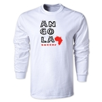 Angola LS Country T-Shirt (White)