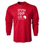 Ethiopia LS Country T-Shirt (Red)