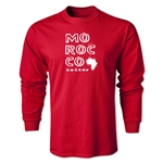 Morocco LS Country T-Shirt (Red)