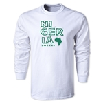 Nigeria LS Country T-Shirt (White)