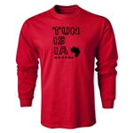 Tunisia LS Country T-Shirt (Red)