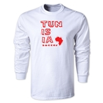 Tunisia LS Country T-Shirt (White)