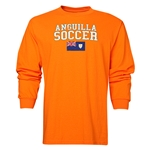 Anguilla LS Soccer T-Shirt (Orange)
