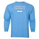 Argentina LS Football T-Shirt (Sky)