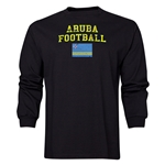 Aruba LS Football T-Shirt (Black)