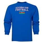 Azerbaijan LS Football T-Shirt (Royal)
