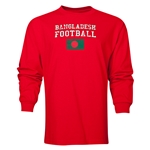 Bangladesh LS Football T-Shirt (Red)