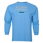 Botswana LS Football T-Shirt (Sky)