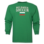 Bulgaria LS Soccer T-Shirt (Green)