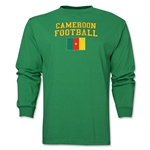 Cameroon LS Football T-Shirt (Green)