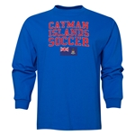 Cayman Islands LS Soccer T-Shirt (Royal)