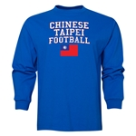 Chinese Taipei LS Football T-Shirt (Royal)