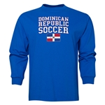 Dominican Republic LS Soccer T-Shirt (Royal)