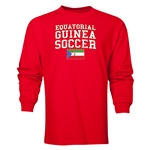 Equatorial Guinea LS Soccer T-Shirt (Red)