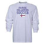 Faroe Islands LS Soccer T-Shirt (White)