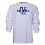 Fiji LS Football T-Shirt (White)