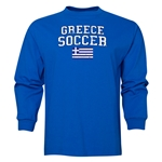 Greece LS Soccer T-Shirt (Royal)