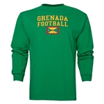 Grenada LS Football T-Shirt (Green)