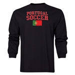 Portugal LS Soccer T-Shirt (Black)