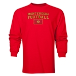 Montenegro LS Football T-Shirt (Red)