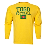 Togo LS Football T-Shirt (Yellow)