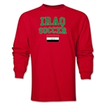 Iraq LS Soccer T-Shirt (Red)