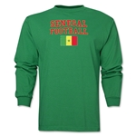 Senegal LS Football T-Shirt (Green)