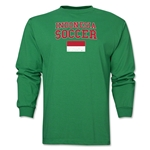 Indonesia LS Soccer T-Shirt (Green)