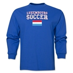 Luxembourg LS Soccer T-Shirt (Royal)