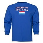 Luxembourg LS Football T-Shirt (Royal)