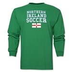 Northern Ireland LS Soccer T-Shirt (Green)