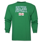 Northern Ireland LS Football T-Shirt (Green)