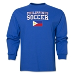 Philippines LS Soccer T-Shirt (Royal)