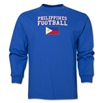 Philippines LS Football T-Shirt (Royal)